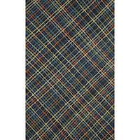 Plaid Outdoor Rug (3'6 x 5'6) - 3'6 x 5'6
