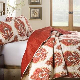214 West Jesse Velvet 3-piece Quilt Set
