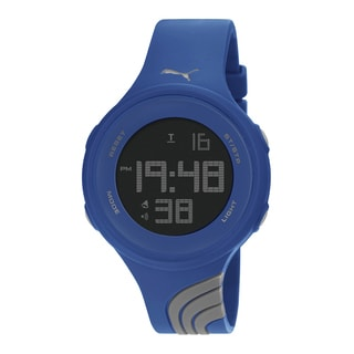 PUMA PU911091009 Unisex Twist Large Grey Navy Digital Watch