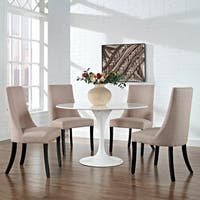 Marquis Set Of 2 Fabric Dining Side Chair Free Shipping