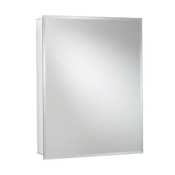 Recessed Or Surface Mount Medicine Cabinet In Aluminum
