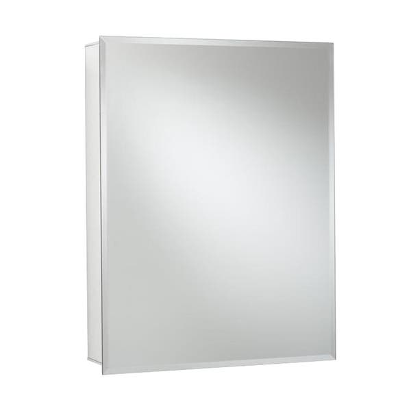 Shop Recessed Or Surface Mount Medicine Cabinet In Aluminum With