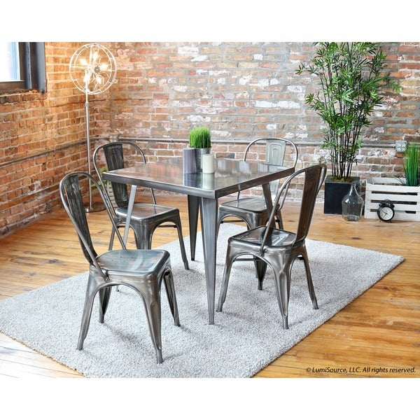 Austin Industrial Dining Table 32quot x 32quot Free Shipping  : Austin Industrial Dining Table 32 x 32 c505b332 cb0f 4542 aba7 5eb82dc29a67600 from www.overstock.com size 600 x 600 jpeg 112kB