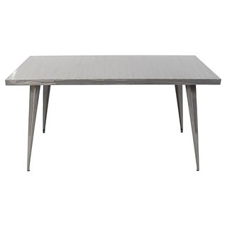 Austin Industrial Metal Dining Table