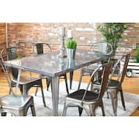 Carbon Loft Swan Industrial Metal Dining Table