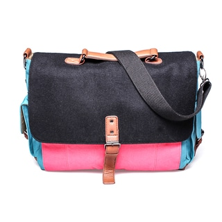 Something Strong Color Block Tablet Messenger Bag