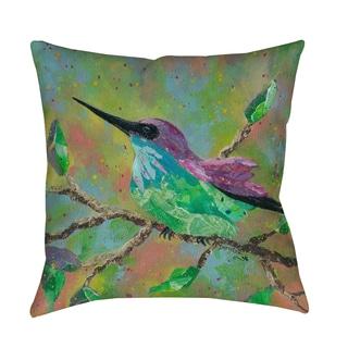 Thumbprintz Hummingbird - Decorative Pillow