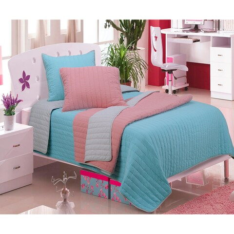 Superior Cotton Brandon (Vertical) 2-piece Quilt Set
