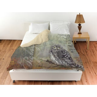 Conifer Lodge Owl Duvet Cover