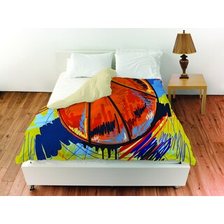 Basketball Slam Dunk Duvet Cover