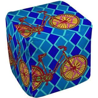 Thumbprintz Neon Party Bike - Pouf