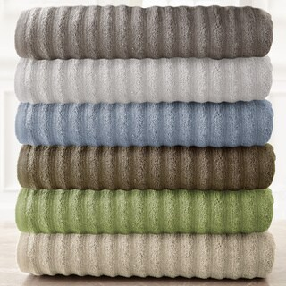 Amraupur Overseas Wavy Luxury Spa Collection 6-piece Quick Dry Towel Set (5 options available)
