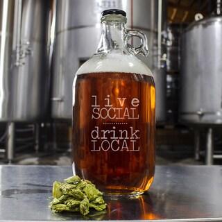 Drink Local Craft Beer Growler