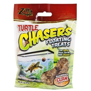 Zilla Clam 2-ounce Turtle Chasers Floating Treats