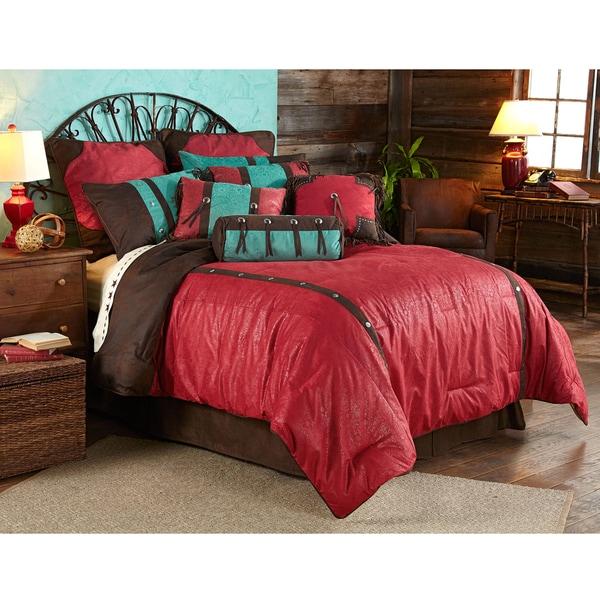 HiEnd Accents Cheyenne 7-piece Comforter Set. Opens flyout.