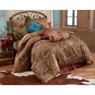 HiEnd Accents San Angelo 4-piece Comforter Set (2 options available)
