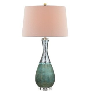 Lamp With Grey Shade Today $ 99 99 Sale Crystal Column Table Lamp W .