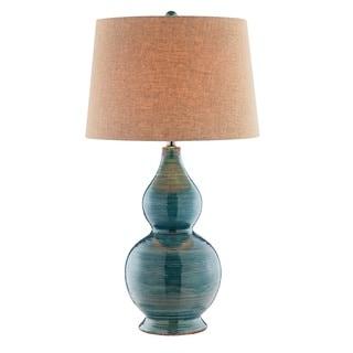 Harriett Turquoise Table Lamp