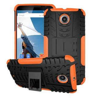 rooCASE Trac Armor Rugged Kickstand Phone Case for Nexus 6