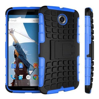 rooCASE Blok Armor Rugged Kickstand case for Google Nexus 6