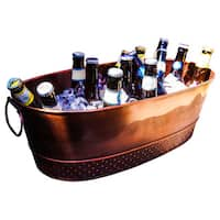 BREKX Colt Copper Finish Beverage Tub