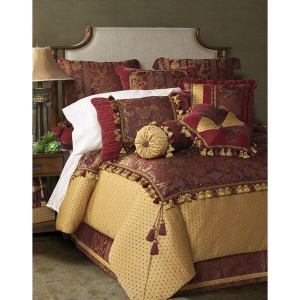 Jennifer Taylor Red Basket Oversized 9-piece Comforter Set