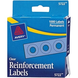 Avery Reinforcement Label - 1000/PK