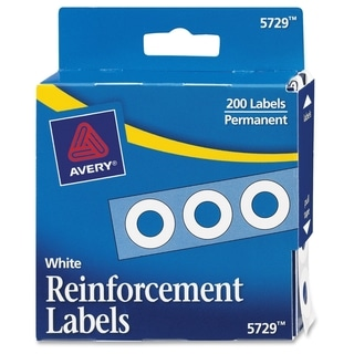 Avery Reinforcement Label - 200/PK