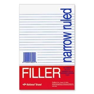 Rediform National Standard Filler Paper - 100/PK