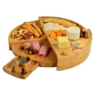 Picnic at Ascot Vienna Bamboo Cheese Serving Set|https://ak1.ostkcdn.com/images/products/10123399/P17261573.jpg?impolicy=medium