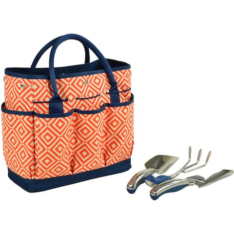 Picnic at Ascot Diamond Collection Gardening Tote with Tools