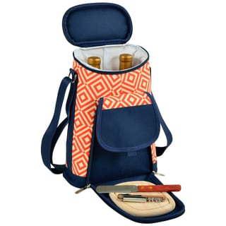 Picnic at Ascot Diamond Collection Wine & Cheese Cooler (Option: Orange)