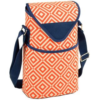Picnic at Ascot Diamond Collection 2-bottle Tote (Option: Orange)