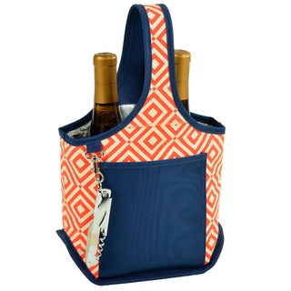 Picnic at Ascot Diamond Collection 2-bottle Carrier (Option: Orange)