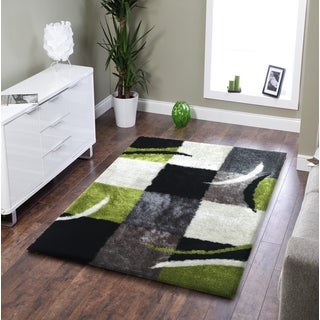 Rug Addiction Hand Tufted Polyester Black Gree Grey Area 5 X 7 On Free Shipping Today Com 10123434