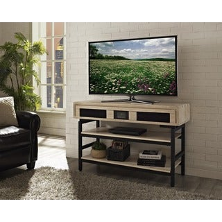 Victoria 48-inch Xperience Audio Console -Weathered Vellum Finish