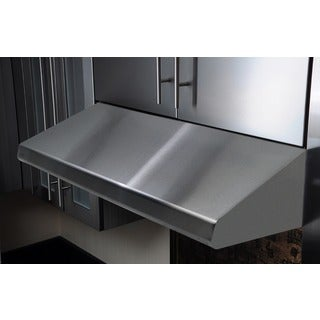 KOBE Brillia 36-inch 680 CFM Under Cabinet Range Hood in Commercial Grade Stainless Steel