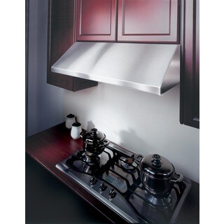 KOBE Brillia 30 Inch 680 CFM Under Cabinet Range Hood In Commercial Grade  Stainless Steel