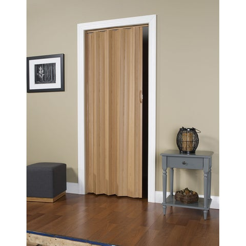 "Via Oak 24""-36""x80"" Folding Door"