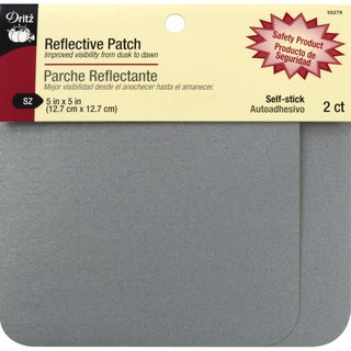Reflective Patch 5inX5in 2/Pkg