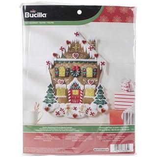 Nordic Gingerbread House Felt Applique Kit18inx23in