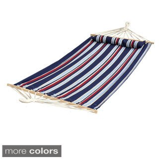 Luxury Brazilian Style Oversized Hammock with Pillow and Spreadbars