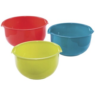 KitchenWorthy 3-piece Mixing Bowl Set (Case of 8)