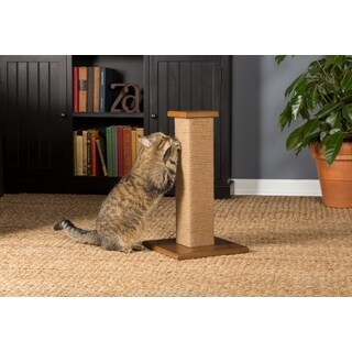 Prevue Pet Products Kitty Power Paws Short Square Cat Scratching Post
