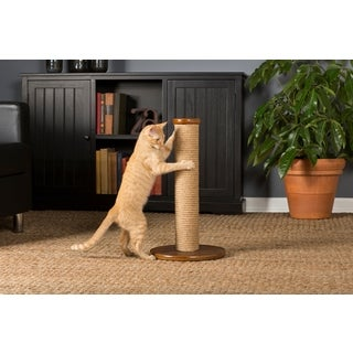 Prevue Pet Products Kitty Power Paws Short Round Cat Scratching Post