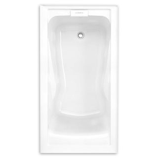 American Standard Evolution 2425V-RHO.002.020 White Soaking Bathtub with Right Hand Drain Outlet