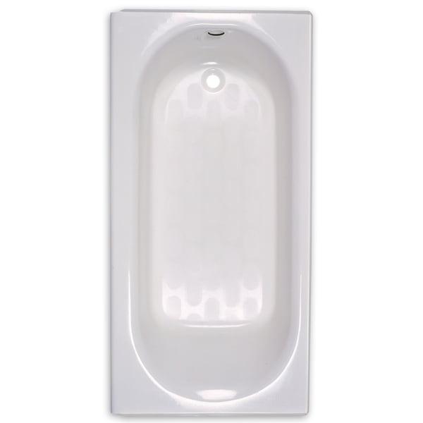 Shop American Standard Princeton 2390.202.020 White Soaking Bathtub ...