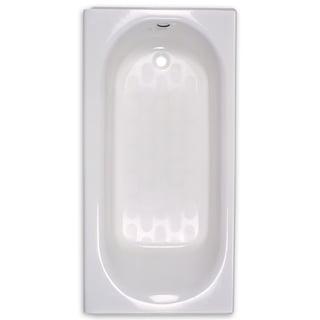American Standard Princeton 2390.202.020 White Soaking Bathtub