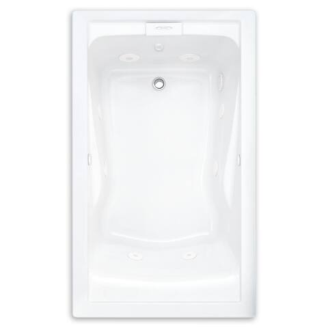 American Standard Evolution Whirlpool 2422VC.020 White Bathtub