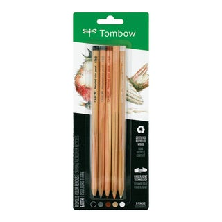Tombow Recycled Color Pencil 5PK, Earth